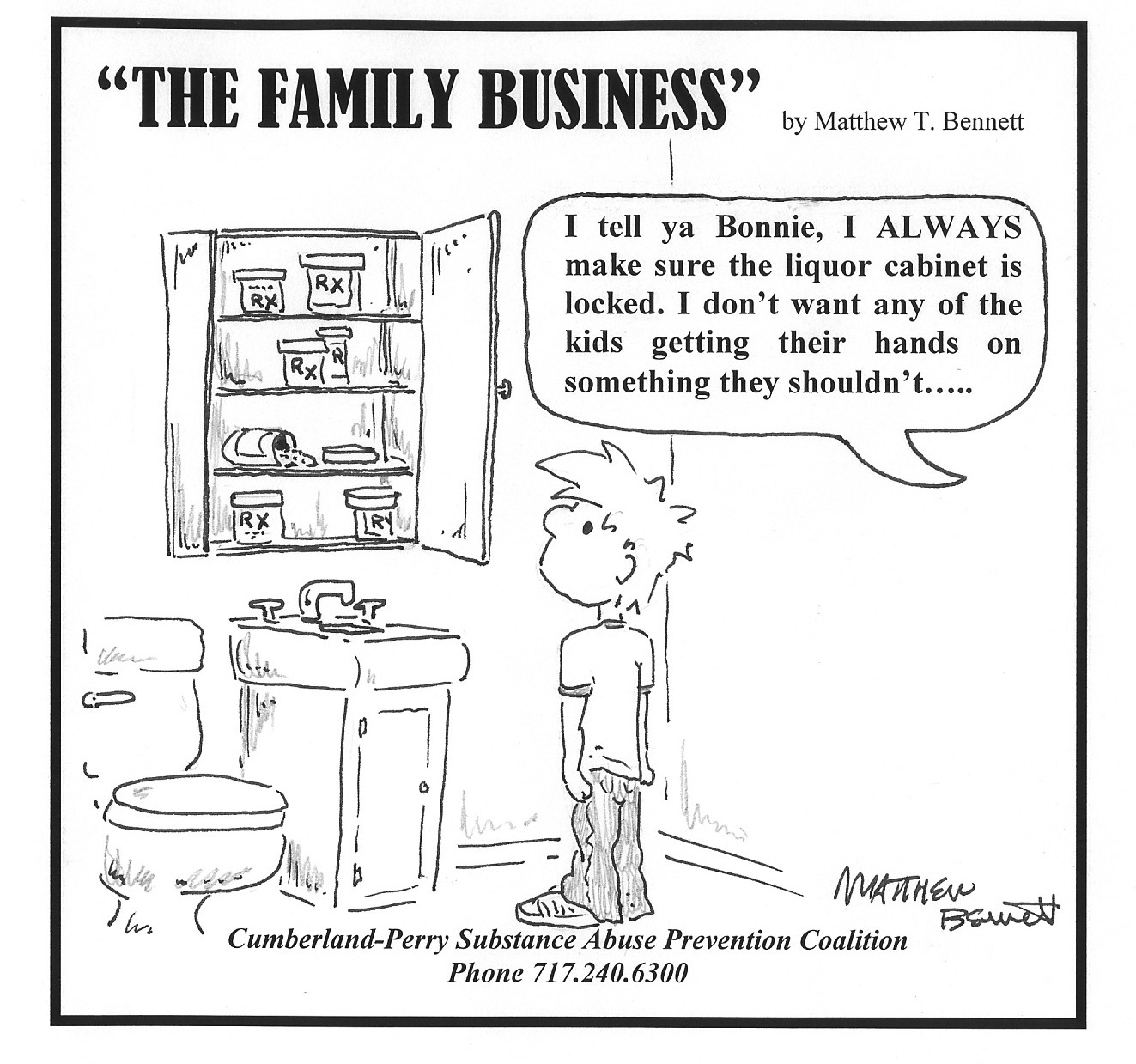 The Family Business - Comic Strip