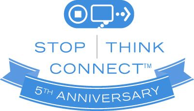 National Cyber Security Awareness Month 5th Anniversary Logo