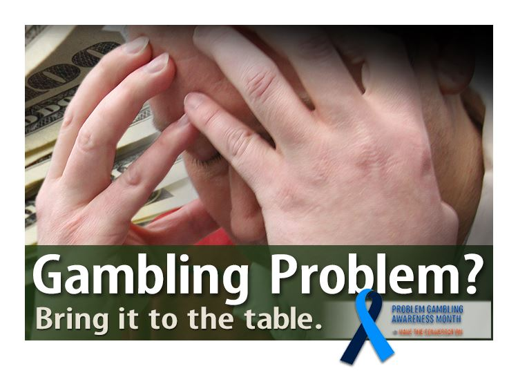 Gambling Awareness Month March Social Media Graphic