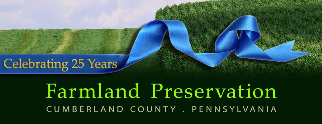 Farmland Preservation . 25 yrs . Webpage Header