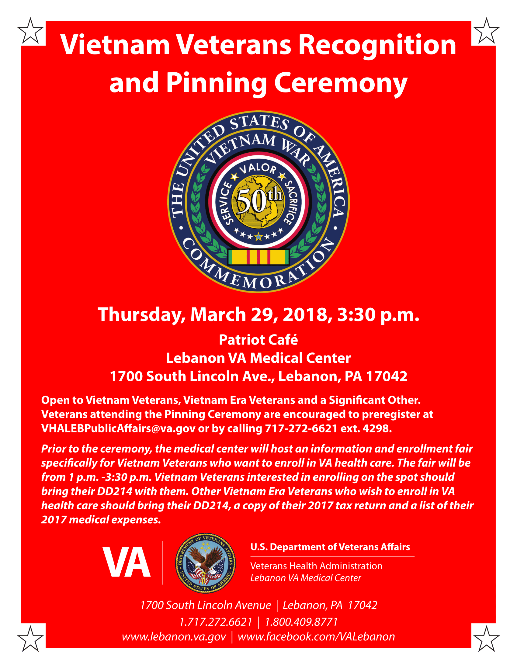 Vietnam Recognition and Pinning Ceremony