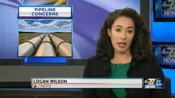 Sunoco Pipeline ABC27 Video