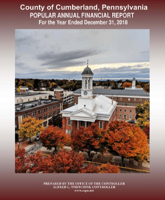 Cumberland County 2018 Popular Annual Financial Report Cover Page