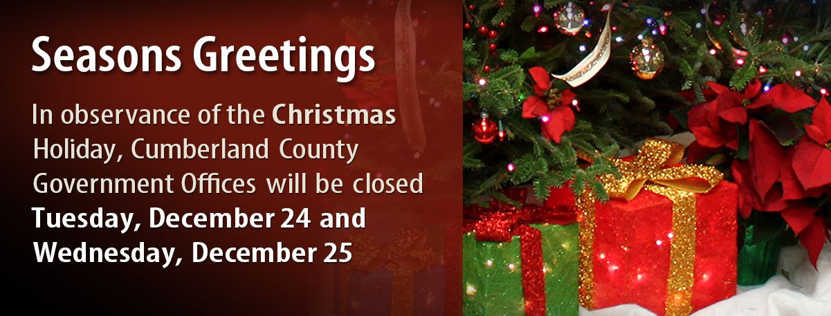 Courthouse Closed for Christmas Holidays