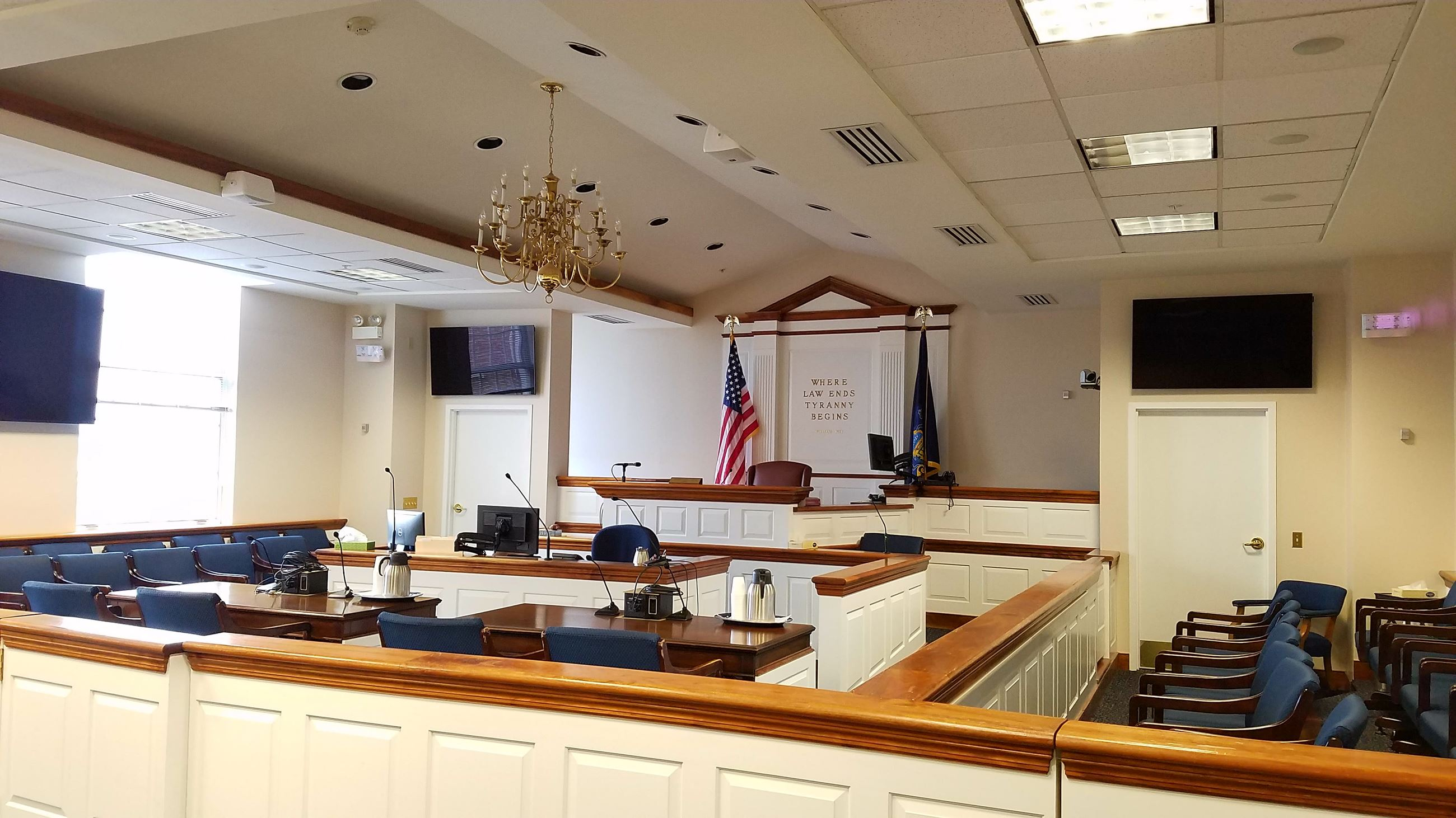 court rooms