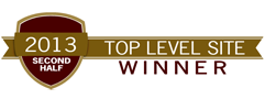 Top Level Site Award 2nd half 2013