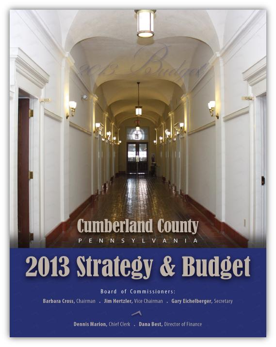 2013 Calendar Budget Document
